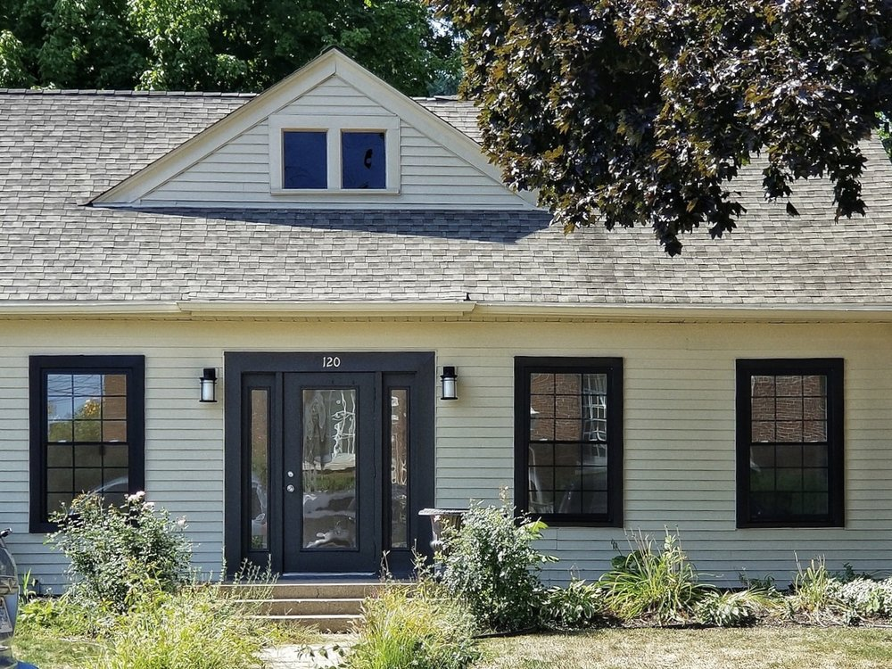 Wallside offers black exterior windows in all shapes and sizes.
