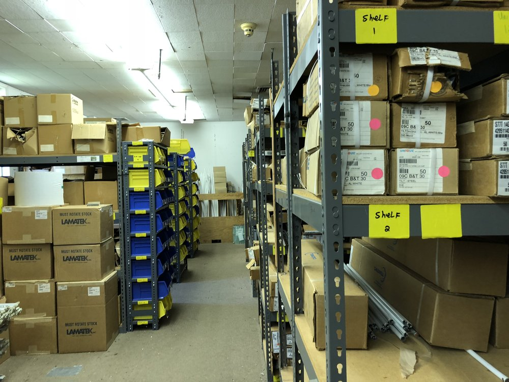Find out why Wallside's Parts Room is so important to customers.