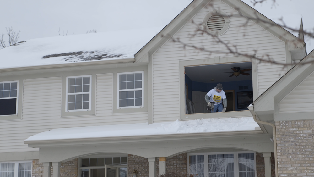 In the winter, installers will have to be extra careful and intentional, often replacing windows one by one instead of all at once, in the interest of mitigating home heat loss.