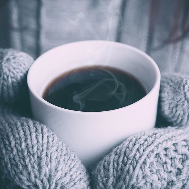 May your Monday morning be warm and cozy! #butfirstcoffee #thenallthethings #weloveyou