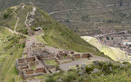 The ruins overlooking Pisac