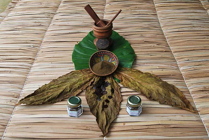 **Rapé - Ceremonial powder made from the Sacred Amazonian tobacco plant
