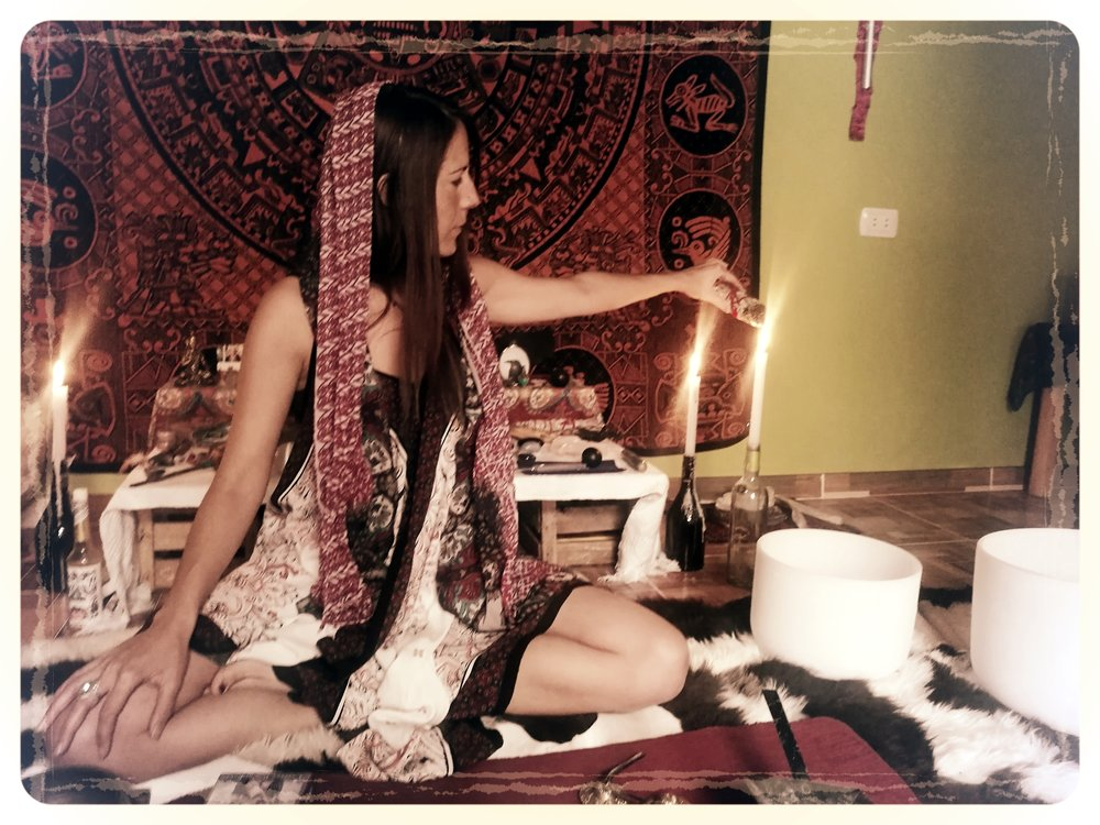 Tati Rabell,  Usui Reiki Master Teacher, Karuna Holy Fire Reiki Practitioner, Shamanic Practitioner & Sound Healer