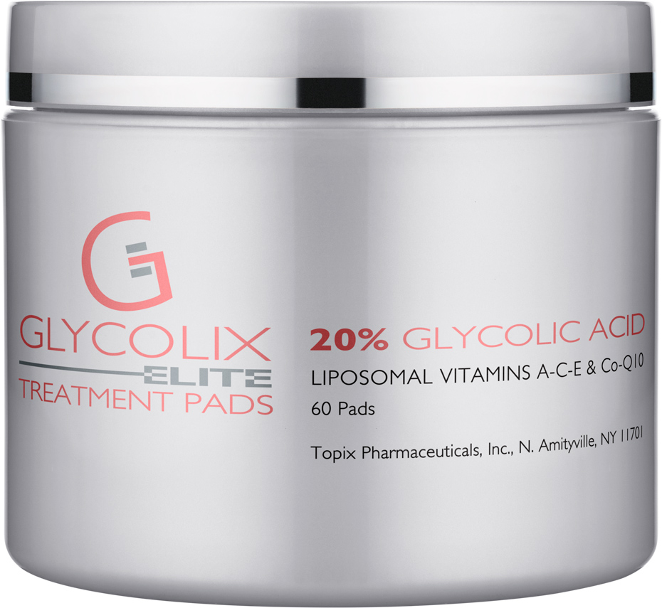 Glycolix  Treatment Pads   Moisturize, while removing oil and residue from the skin!