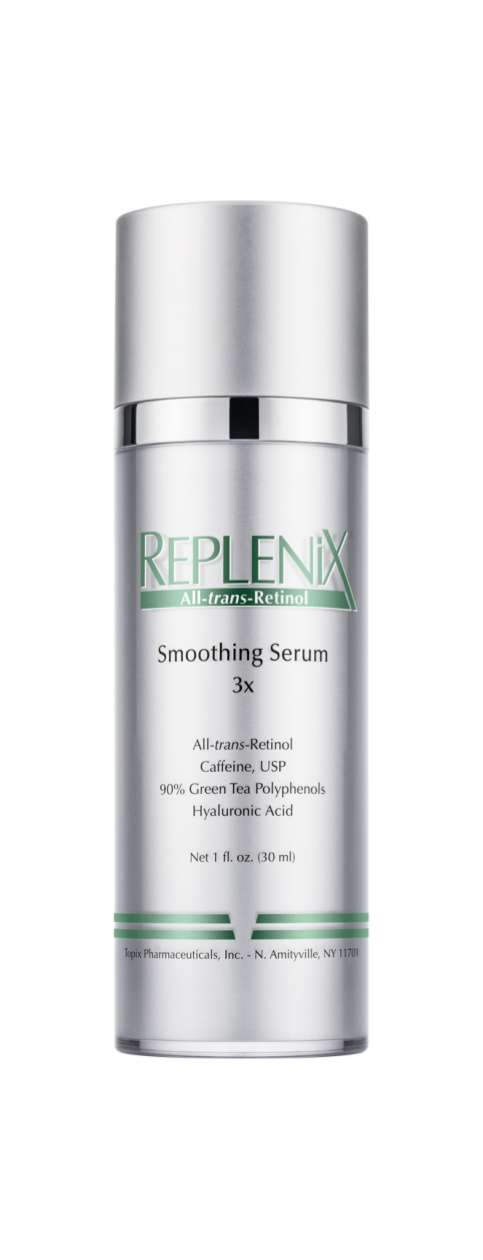 Replenix  Smoothing Serum 3x   Achieve softer, smoother, evenly toned skin!