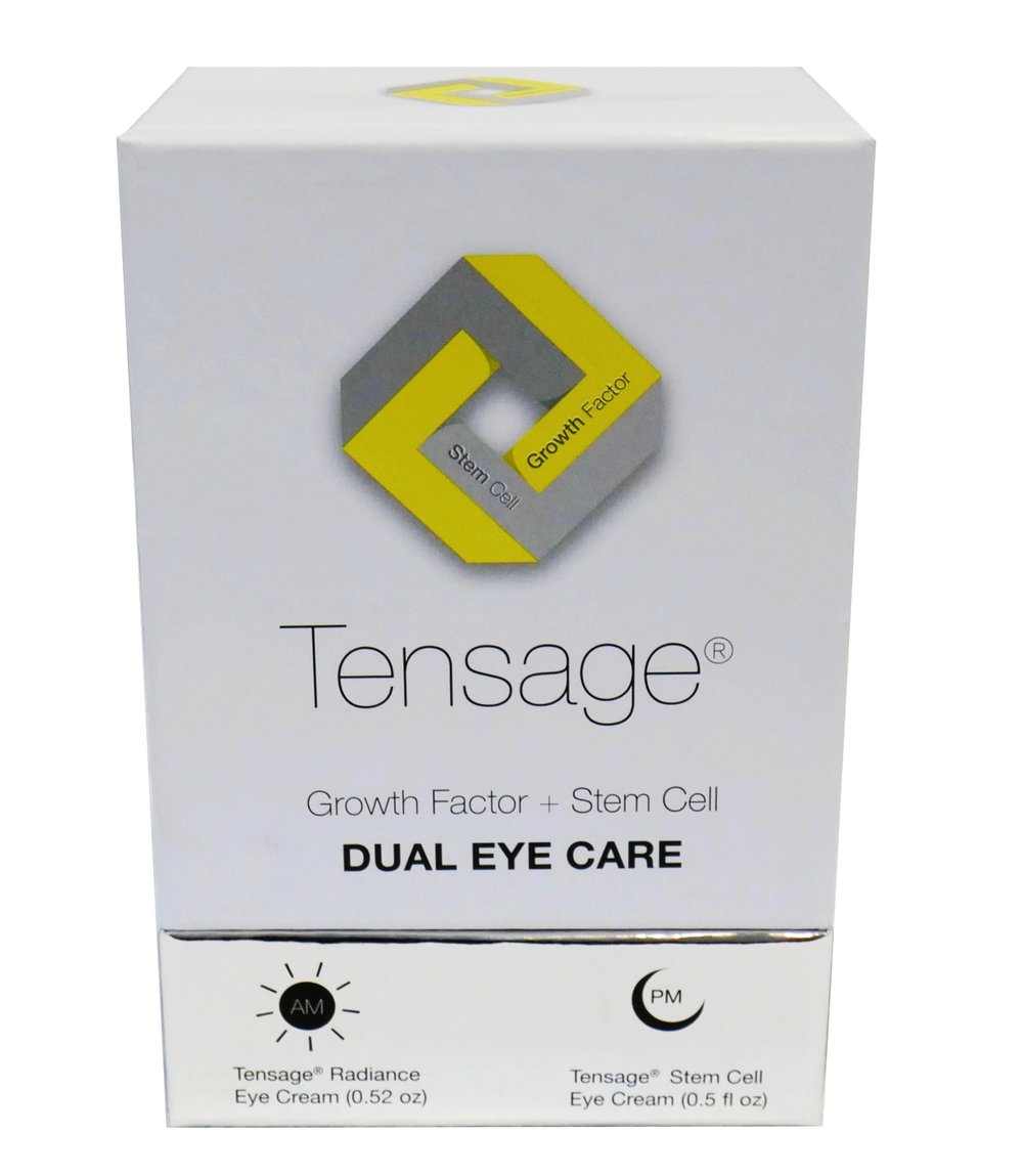 *LIMITED TIME*  Biopelle  Tensage Dual Eye Care Kit   This dual eye care kit has Growth Factor Eye Cream that repairs, maintains, and protects, while the Stem Cell Eye Cream replenishes, reinforces, and restores.