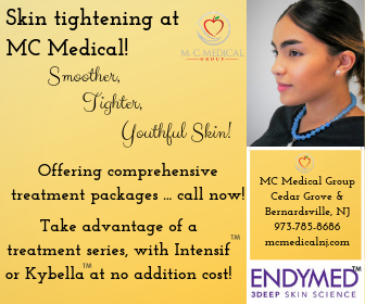 Safe, effective, no down time skin tightening! - Call us at 973-785-8686 today.The popular and effective Endymed tightening is here! Offering complimentary Intensif(TM) or Kybella(TM) with 3DEEP tightening packages.