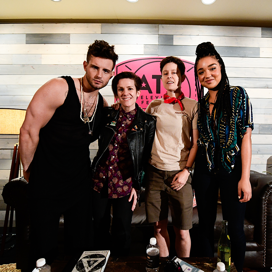 Breaking Down the Binary - Nico Tortorella, Cameron Esposito, Rhea Butcher, and Aisha Dee