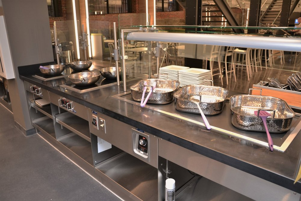 Emerson College Dining foodservice equipment project by Boston Showcase Company