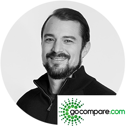 Jackson Hull, CTO, Gocompare