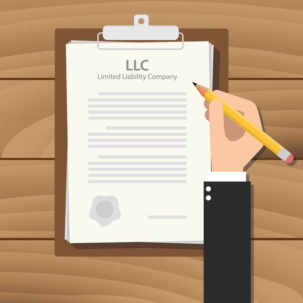 FORM AN LLC - A Limited Liability Company is the first level of protection between you personally and your business.