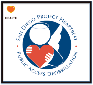 San Diego Project Heart Beat Everywon 5k run walk volunteer fundraise donate defibrillator save lives