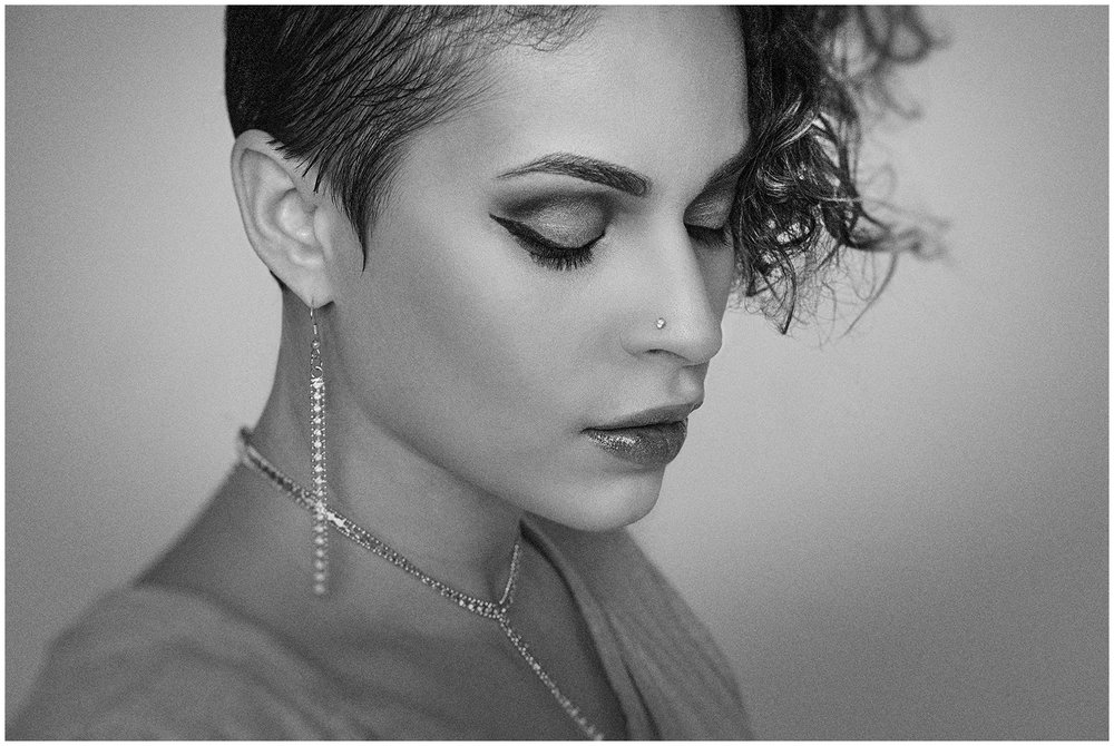 Portrait of Atlanta Model Madeline Suarez by Richard Cawood