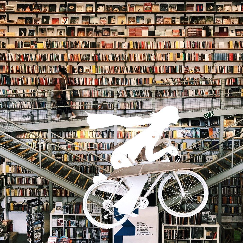 Livraria Ler Devagar - LX Factory, Lisbon