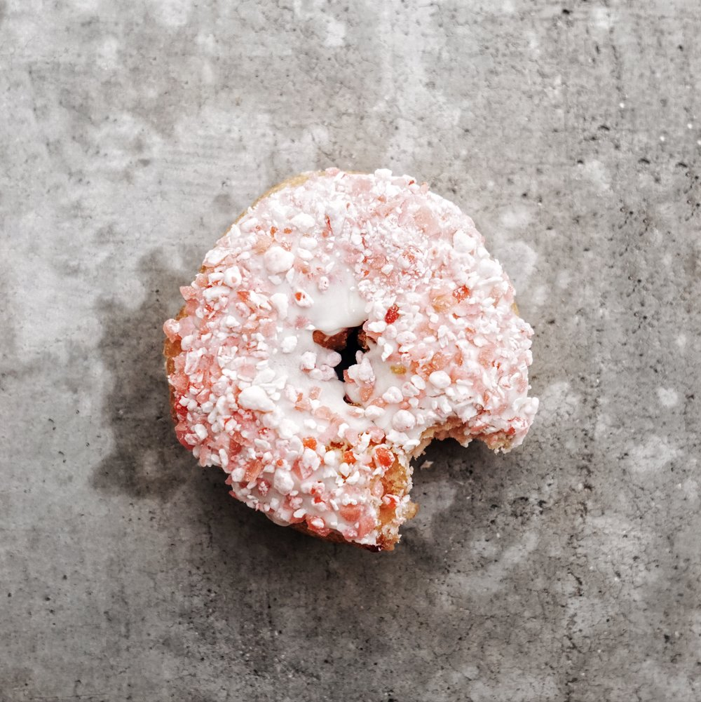 The strawberry cream cheese donut - Donut Bar