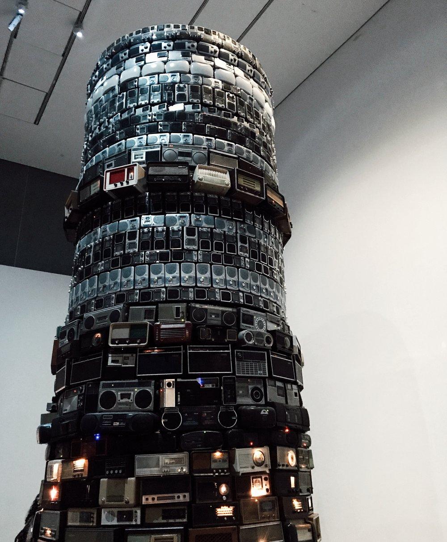 Art installation at the Tate Modern