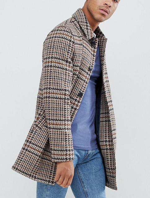 $120 - ASOS wool mix overcoat   I've posted this coat on my  Instagram  a few times and everyone has LOVED it. It's great quality and is super affordable!!