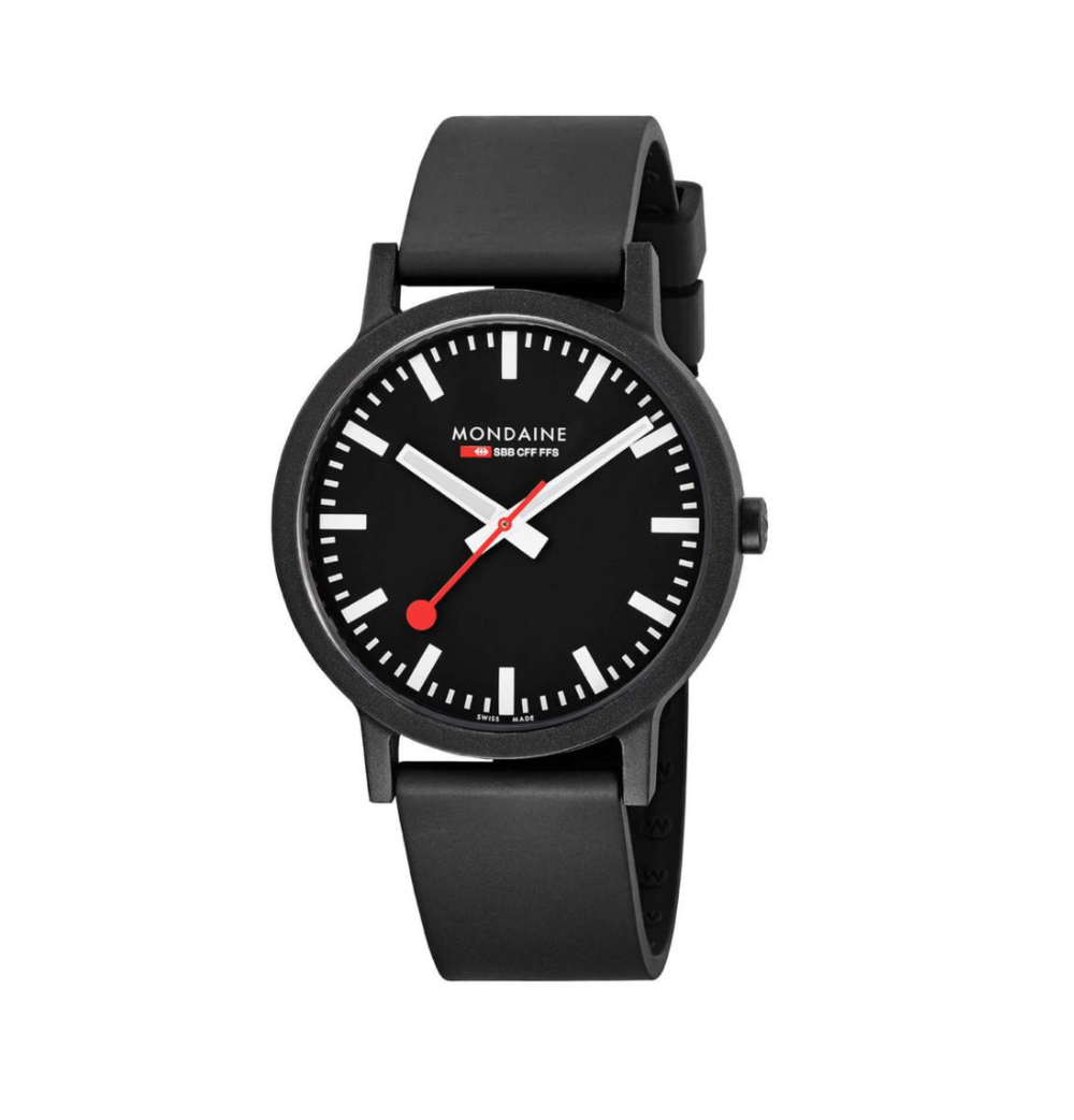 $175 - MONDAINE ESSENCE   I've had this watch for about a year now and love it! The bold design makes this a great modern watch that looks much more expensive than it actually is!