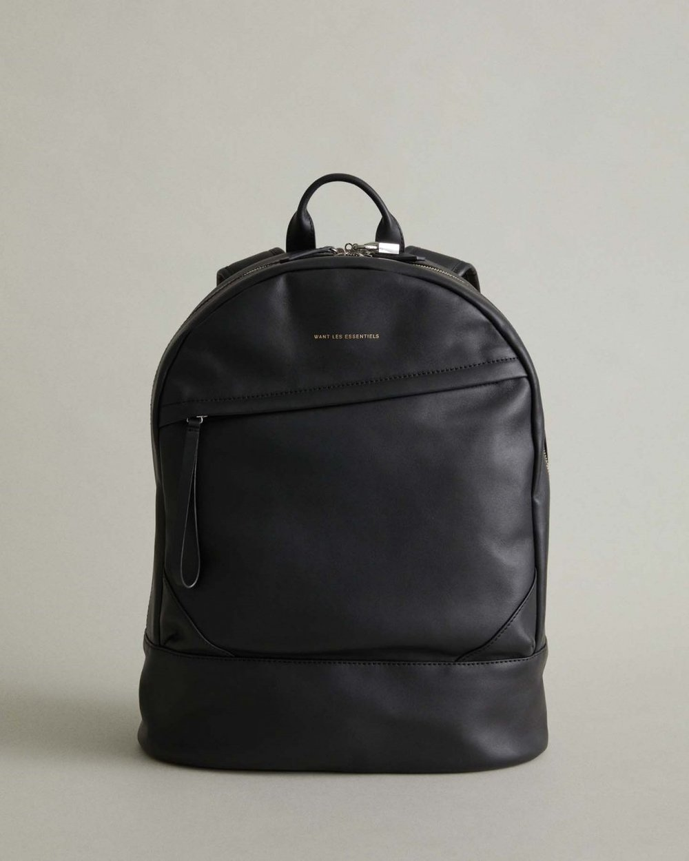 $695 - Want Les Essentiels leather backpack   Who doesn't love a great leather backpack?! And who actually loves carrying around a briefcase (#shoulderpain)?? This backpack is perfect for the office and also tells your co-workers you're still cool without carrying around your old college backpack.