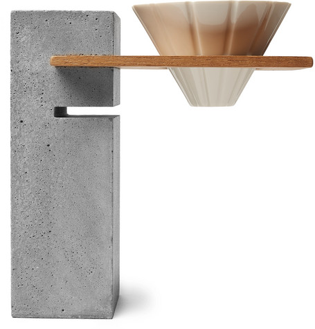 $770 - BI.DU.HAEV pour-over stand   Wanna scream pretentious to anyone that comes over? Get this! In all serious though, I'm so in love with the pour-over stand and would definitely gift this to someone special that loves coffee as well as stunning design.