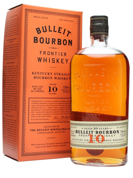 $45 - Bulleit Bourbon 10 year   I love Bourbon and this 10 year is a great option for a whiskey lover!! So smooth! I love making old fashions with this.