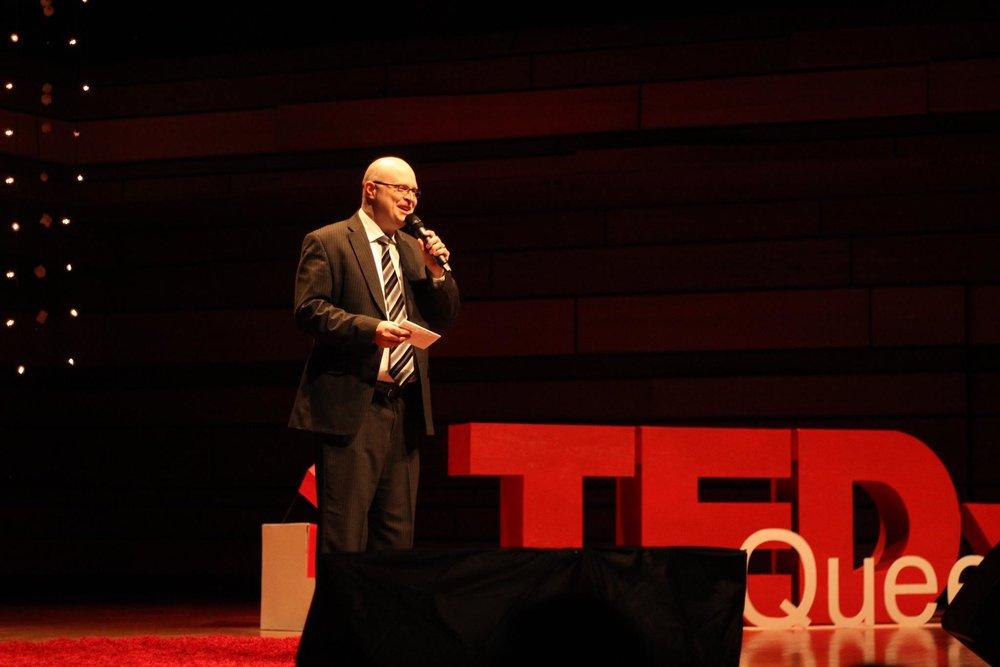 Carl Richards - TEDx Queens University
