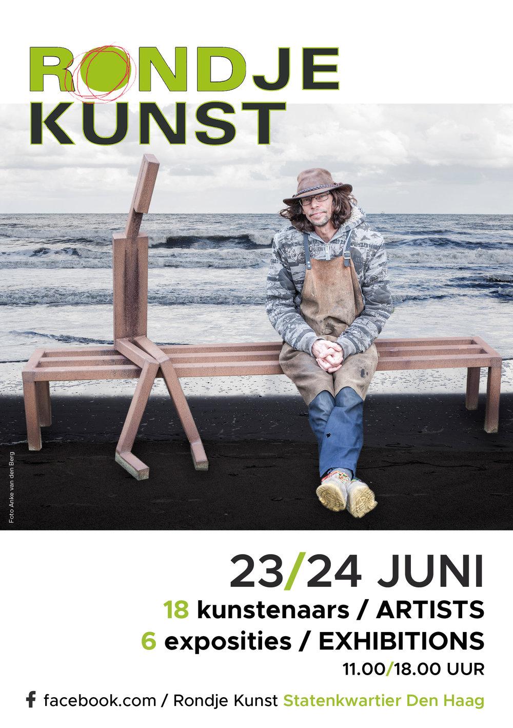 Poster Rondje kunst 2018