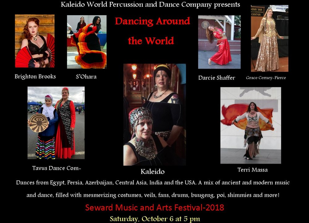 5:00 pm - Kaleido World Percussion & Dance