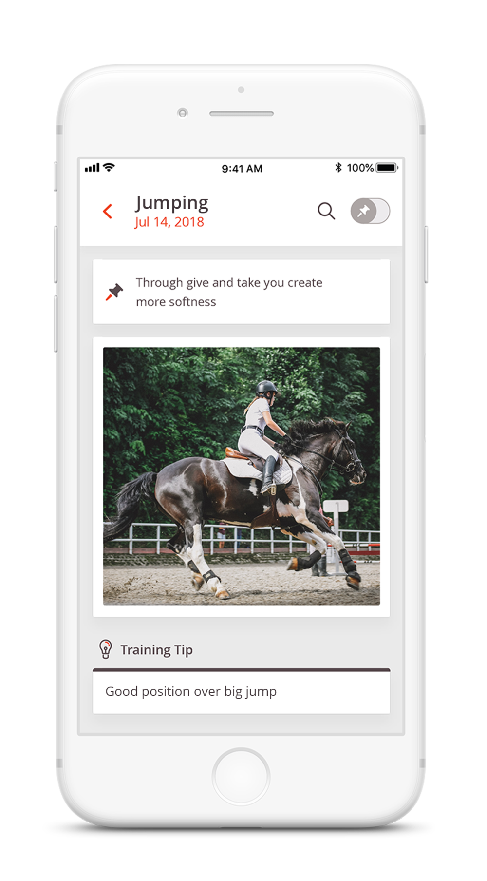 Photo & Video Storage - Say goodbye to the days of nagging your coach to send that photo, or having to dig through your photo library to find the last video your coach took during a lesson. Store your photos and videos alongside the key points of feedback from that lesson to help you review, recreate, improve and master your skills.