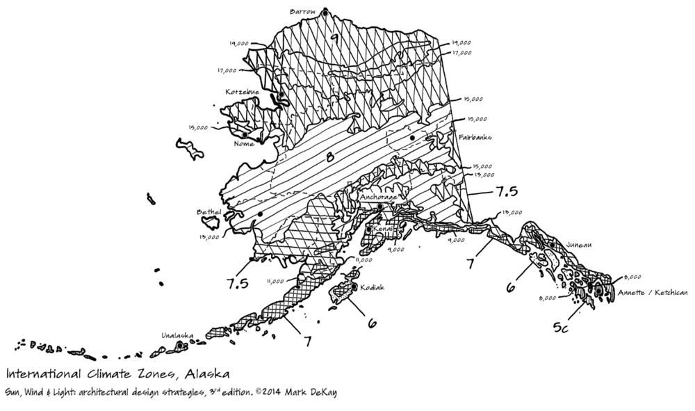 p40 Climate Zones, Alaska