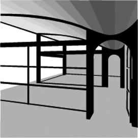 D55 Daylight Room Geometry
