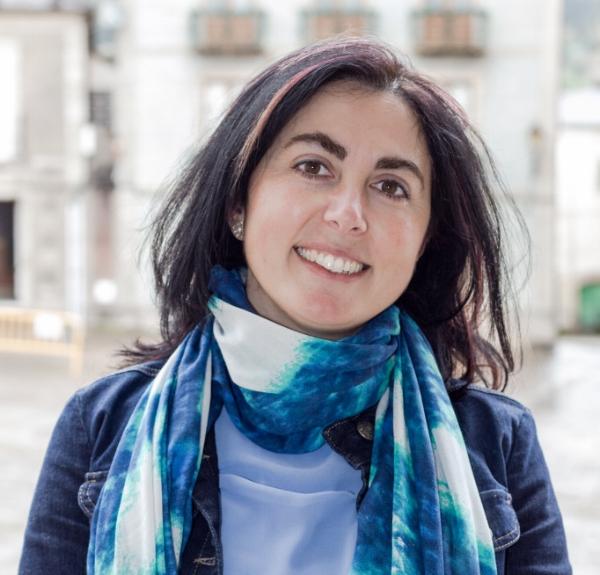Mondoñedo - Alcaldesa - Elena Candia.JPG