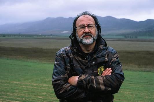 Luis Miguel Domínguez. Naturalista y director del Gabinete de Historia Natural