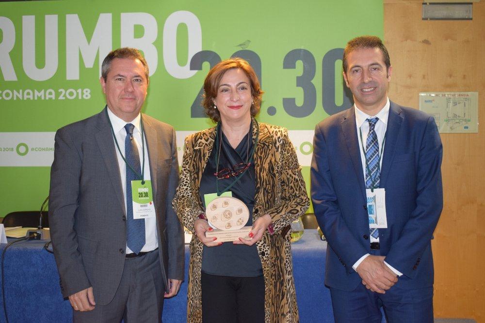 Teresa María Belmonte, alcaldesa de Bigastro, ciudad premiada en la categoría de Economía Circular