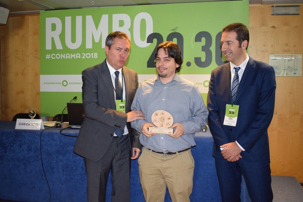 Ignacio Fernández, concejal de Urbanismo y Medio Ambiente de Oviedo, ciudad que consiguió el premio al Fomento de la Participación Ciudadana