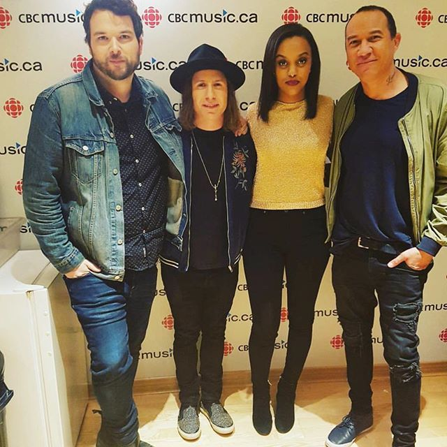 Had the best time discovering insanely talented Canadian musicians with these dudes! 🎶🍁