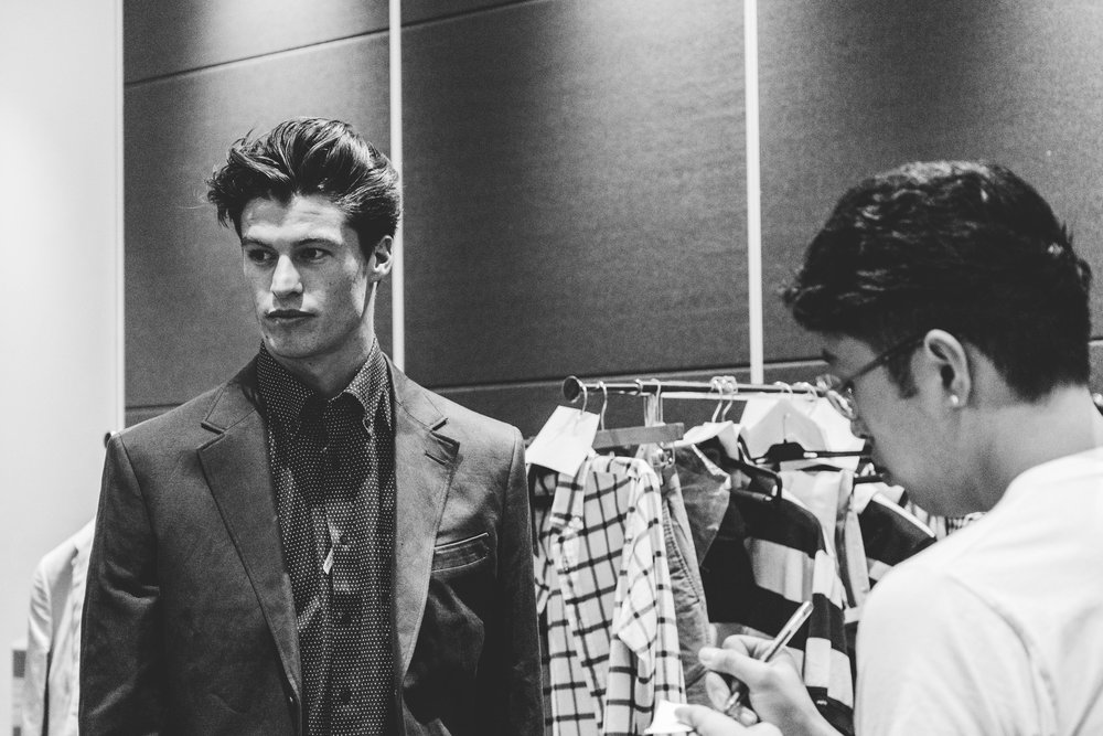 Suits make the man, or man makes the suit?TPFF, Hana Photography, 2017