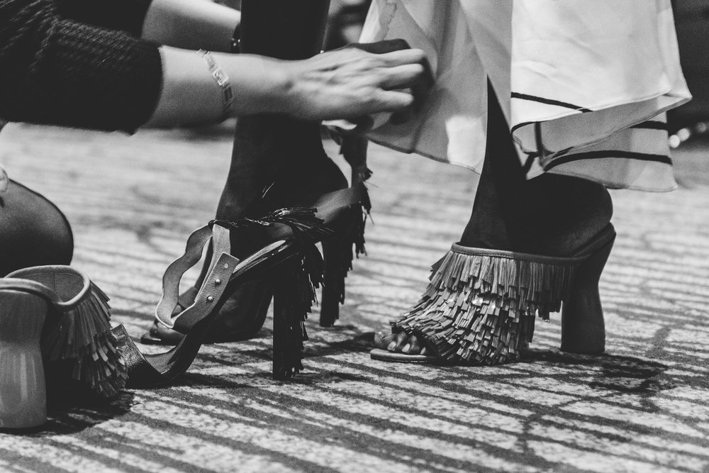 Shoes details.TPFF, Hana Photography, 2017