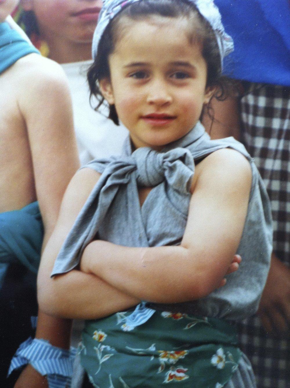 Sassy since way back. Mana Tamariki, 1990s