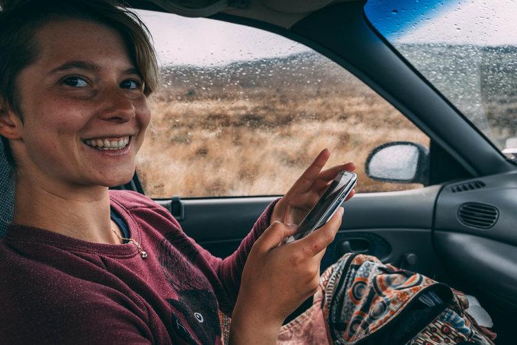 Nadja - HITCHHIKER | ROTORUA TO PALMERSTON NORTH | 2017