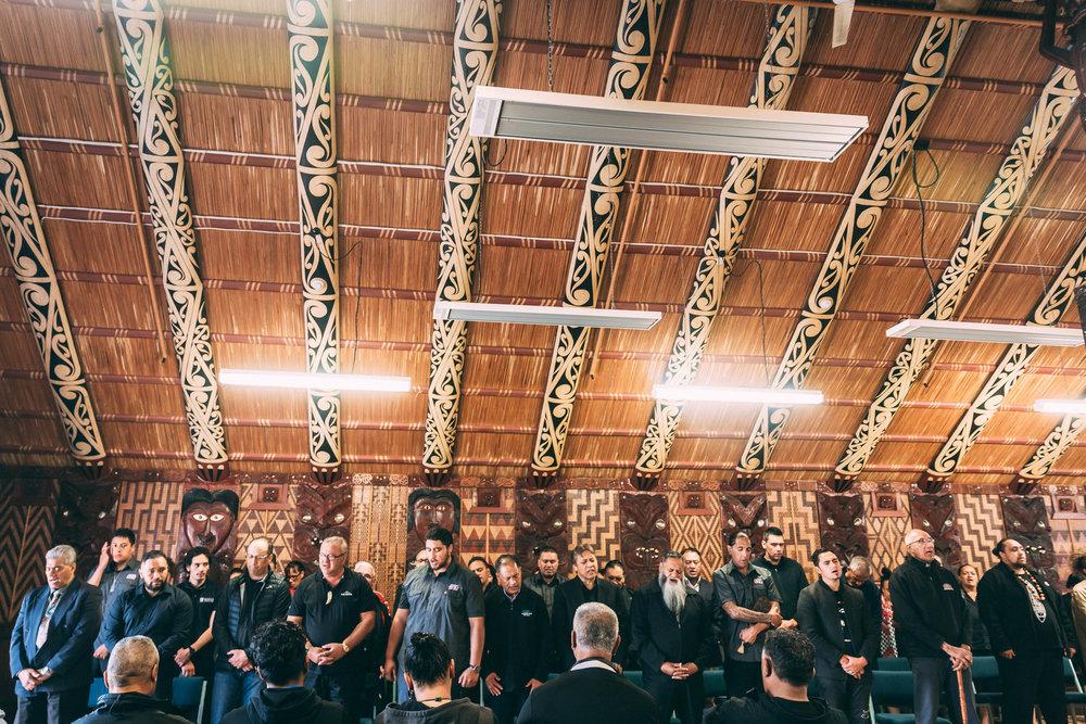 TE PĀKIRA MARAE, WHAKAREWAREWA, 2018 - Tuhourangi tikanga wānanga