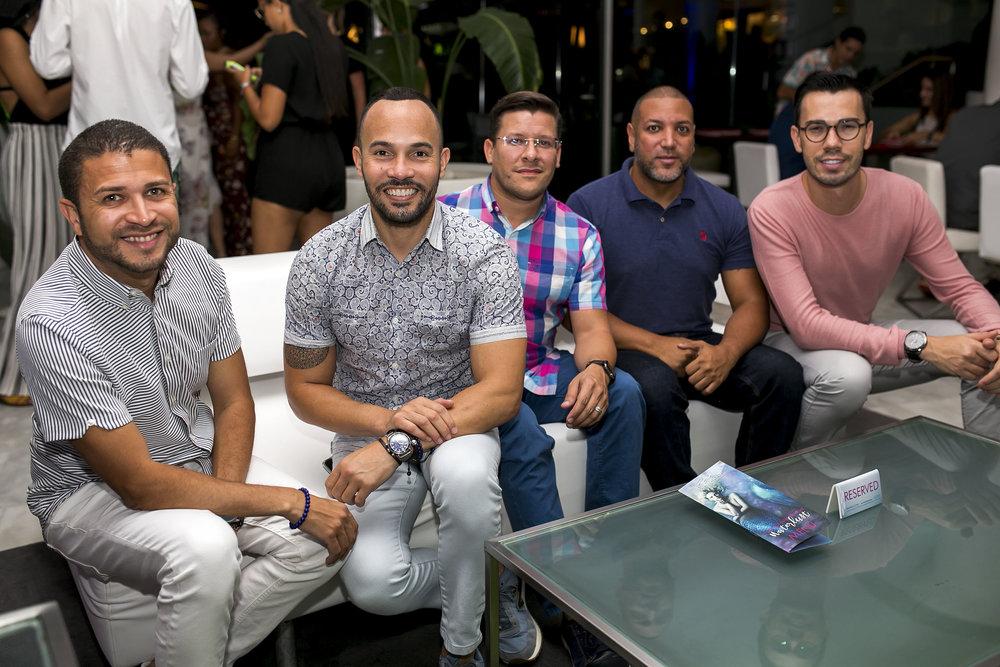 Ricardo Soto, José Luis Cedeño, Ricardo Calderón, José Antonio Rivera y Christian Charles.JPG