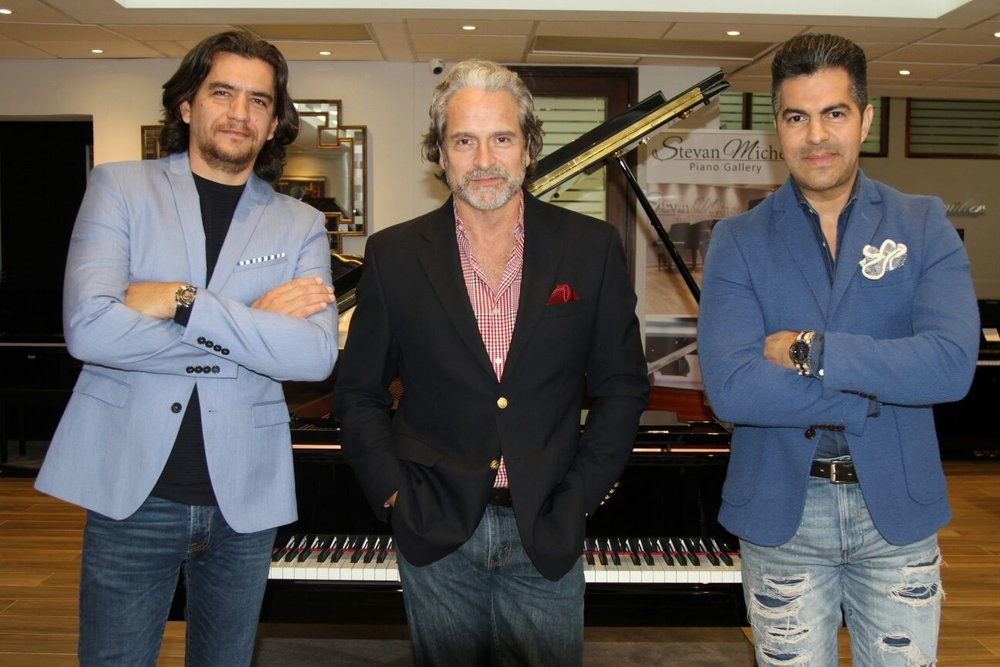 Steven Micheo, Francisco Paz y Adlan Cruz.