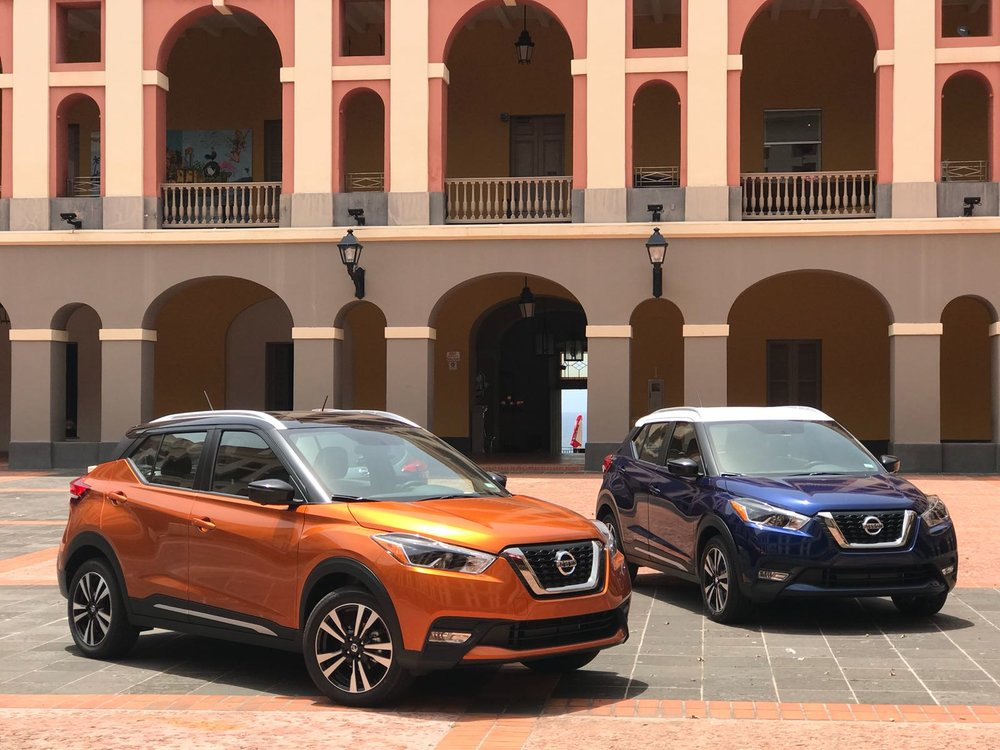 Foto: Nissan Kicks- Cuartel de Ballajá.