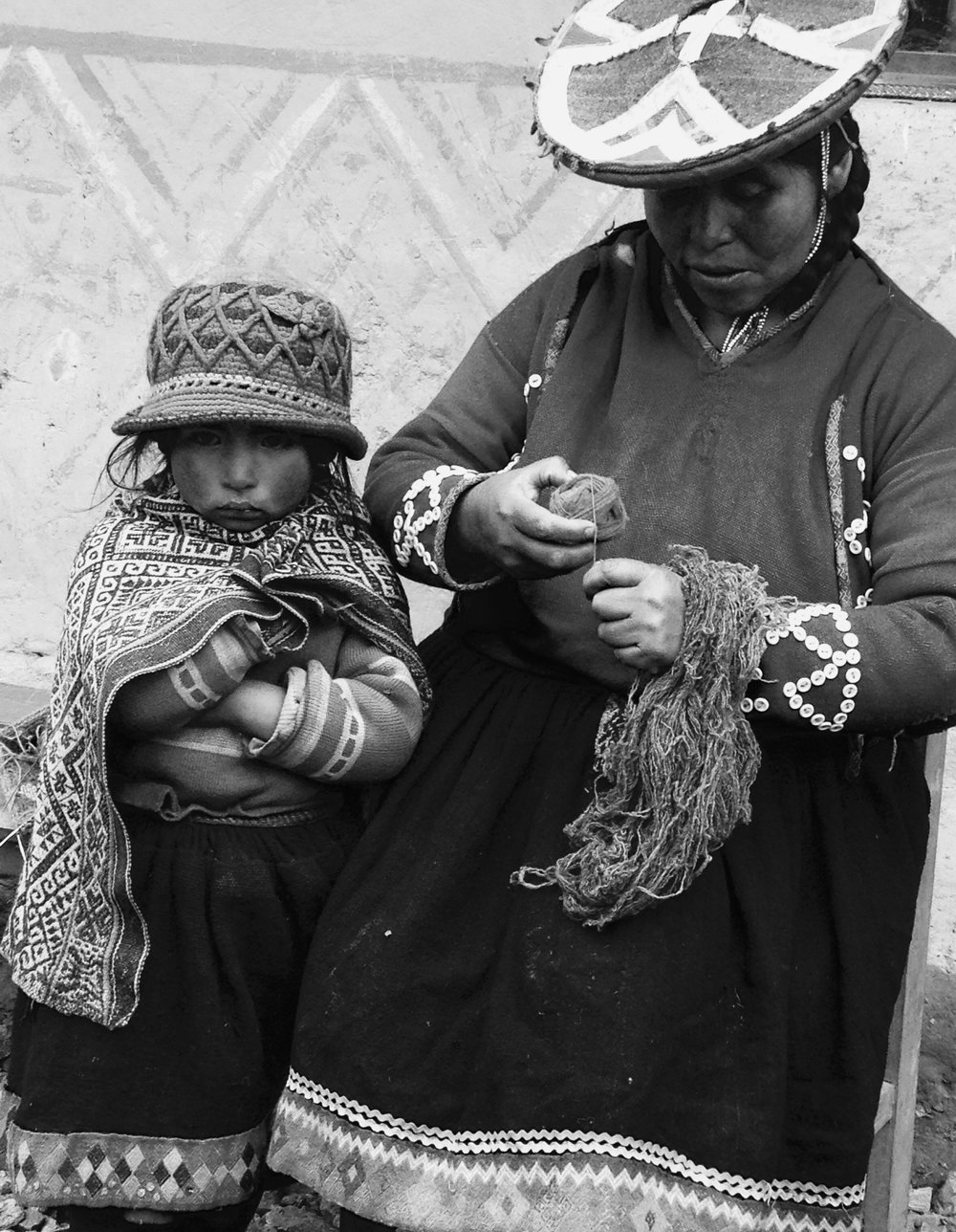 Weaving in Peru, 2014  Honorable Mention from the 2017 Scholastic Art & Writing Awards