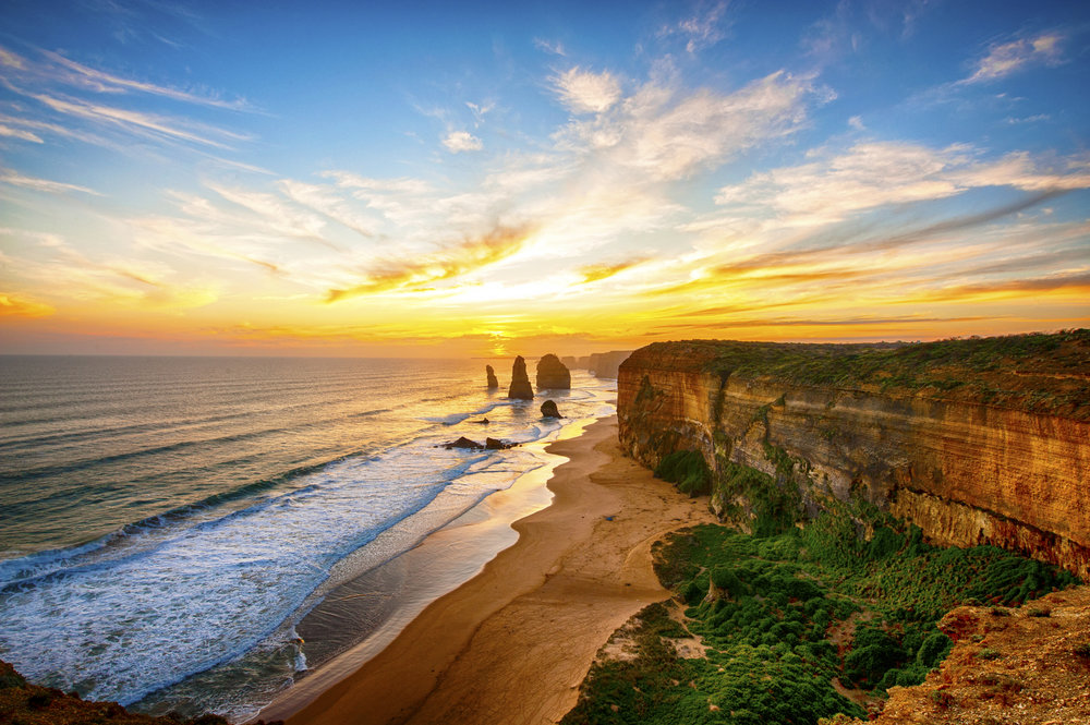 Australia's Top Experiences: - 1. Driving a camper van through the Outback from Uluru to the Devils Marbles2. Spending the night sailing to the Whitsunday Islands before diving on the Great Barrier Reef3. Walking the coastal trail between Bondi and Coogee beaches