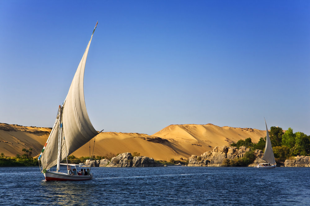 Top Experiences In Egypt: - 1. Tour the Pyramids2. Cruise on the Nile 3. Check out the Alexandria
