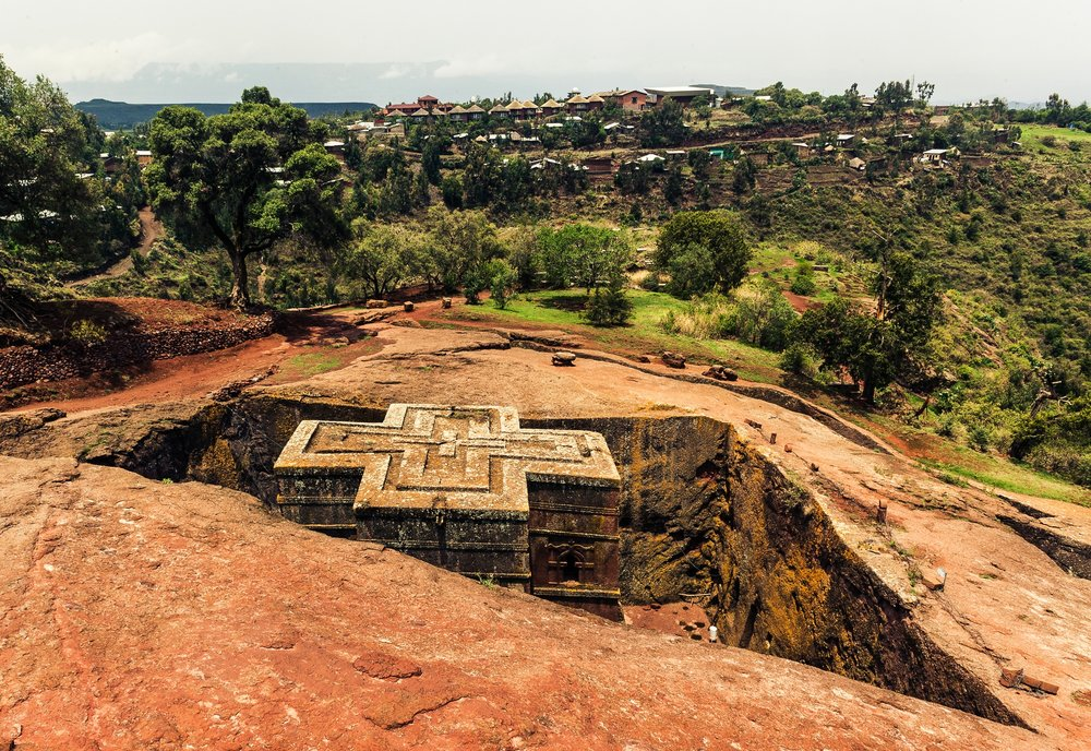 Top Experiences in Ethiopia: - 1. Check out the rock-hewn Bete Giyorgis in Lalibela2. Trek through Simien Mountains National Park3. Hold a taste test to crown the best tibs or shiro wat