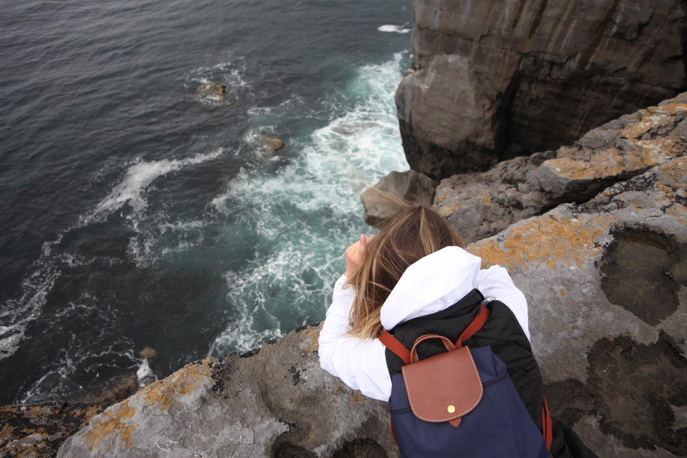 On the way to the Cliffs of Moher   Ireland