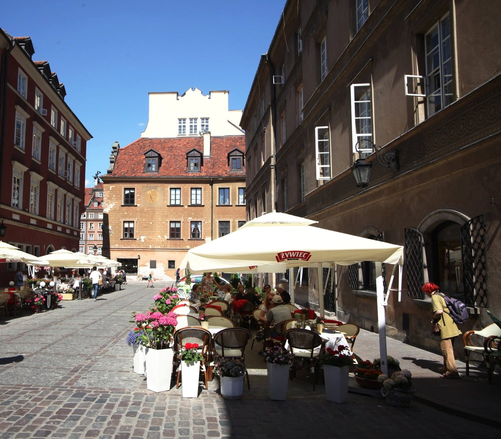Old Town Warsaw ,  Poland